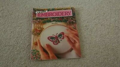 Learn Embroidery Book By Jane Iiles