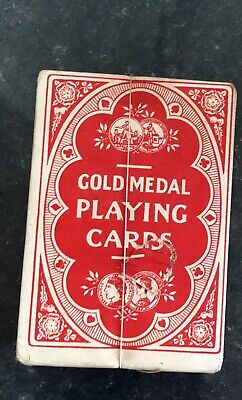 Gold Medal Playing Cards