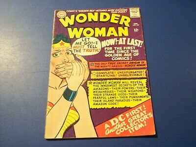 Wonder Woman #159 Silver age Solid VG-/VG