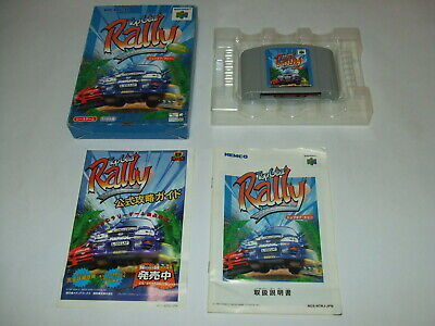 Top Gear Rally Boxed with Manual Nintendo 64 N64 Japan import
