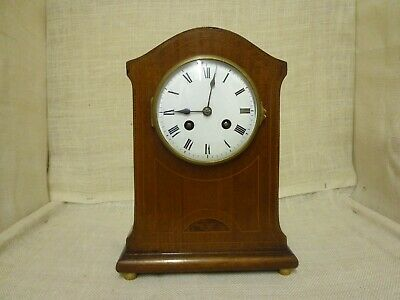 Antique French 8 day mantel clock by Japy Freres