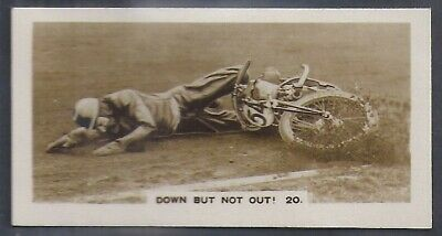Pattreiouex-Dirt Track Riders (Descriptive F54)-#20- Down But Not Out