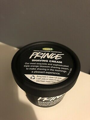 Lush Cosmetics Prince Shaving Cream 100g Brand New Fresh