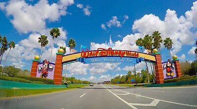 2 Adult  1-Day Base Disney Tickets  $58 EA Must Read Full Description