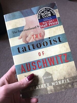 The Tattooist Of Auschwitz Paperback Heather Morris 2018