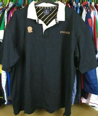 71a900ff312 England Guinness Cotton Traders Short Sleeved Rugby Shirt Jersey Top 4Xl  Adult