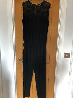 Next Maternity Black Jumpsuit Size 18