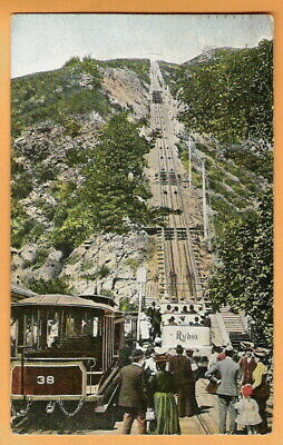 Two Postcards. Mount Lowe Incline. California. Los Angeles.