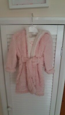 Baby Girl Dressing Gown 6-9 New