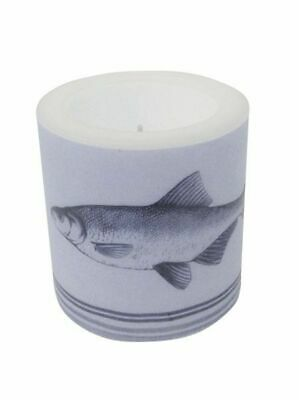 G4549: Lamp Ion with Fish, Maritime Self Dull Candle