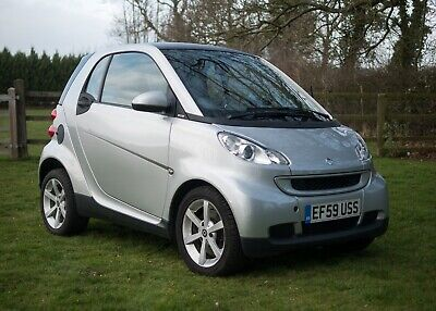 Smart ForTwo Pulse Cdi 2009 Diesel Silver Free Tax