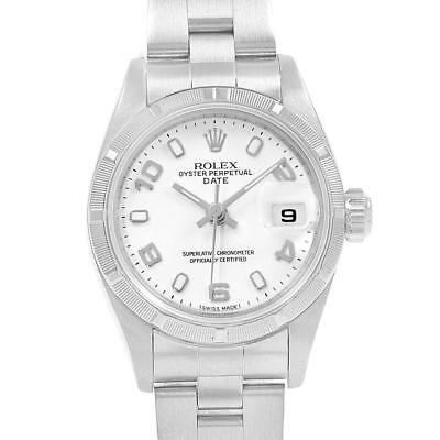 Rolex Datejust 26 White Dial Automatic Steel Ladies Watch 79190