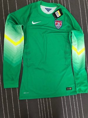 39340d3186e Nike Mens Team USA Soccer Long Sleeve Goalie Goalkeeper Authentic Jersey sz  2xl