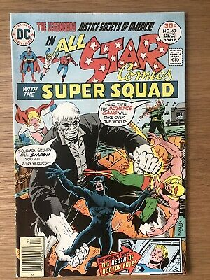 DC JSA All-Star Comics With The Super Squad Issue #63 Cents Copy First Print