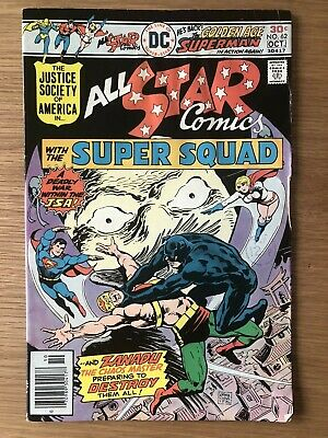 DC JSA All-Star Comics With The Super Squad Issue #62 Cents Copy First Print