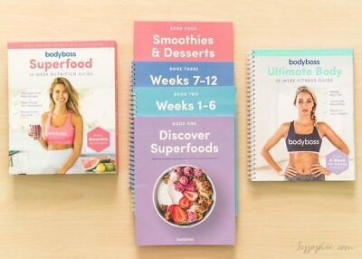 Bodyboss Fitness And Nutrition Ultimate Complete Guide Body boss (EB00K)