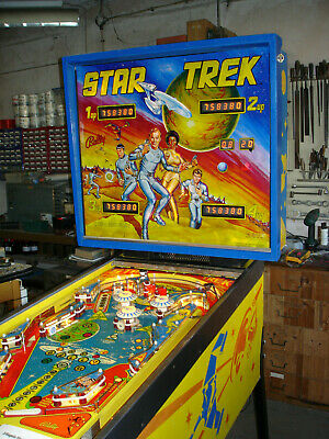 Elektr. Flipper Fa. Bally - STAR TREK    Bj. 79  - Super Zustand