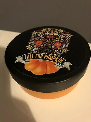 *THE BODY SHOP* Fall For Pumpkin - Vanilla Pumpkin Body Butter Moisturiser 200ml