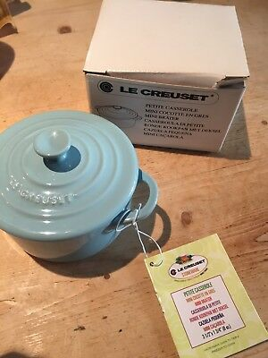 Le Creuset Petite Casserole Duck Egg Blue New In Box Just £12.50 Valentines Gift