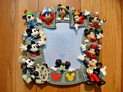 ***disney Mickey Mouse Anniversary Picture Frame***