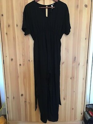 Black ASOS Maternity jumpsuit Size 8