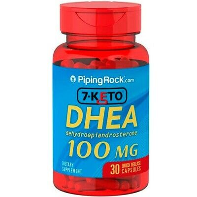 DHEA 7-KETO 100mg 1x30cps. ANTI EDAD. Piping Rock. ENVIO GRATIS Y URGENTE