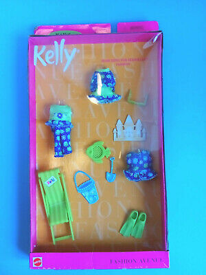 Barbie Fashion Avenue Kelly Doll Clothes Searching for Seashells NIB Shelfwear