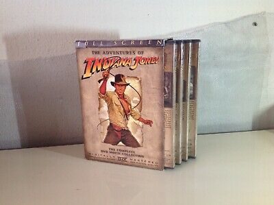 Adventures of Indiana Jones: The Complete DVD Movie Collection Full Screen 4 DVD