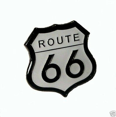 Route 66 Collectors Bike Pin Badge New