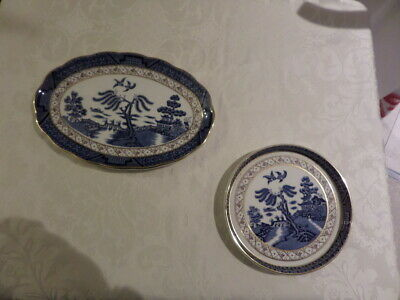 ROYAL DOULTON - BOOTHS 'REAL OLD WILLOW' PATTERN CHINA - TC 1126 available separ