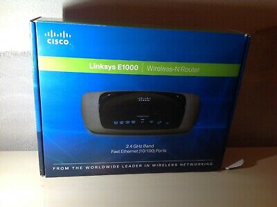 CISCO LINKSYS E1000 V2 Wireless-N Router - $12 78 | PicClick