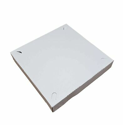 """10"""" x 10"""" x 1.50"""" Automatic Clay Coated Small Pizza Box (15 Pieces)"""