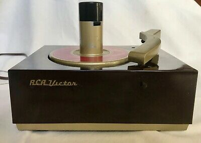 Rca Victor 9-Jy 45 Rpm Record Player Changer Turntable Phonograph - Restored