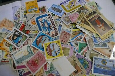 288  1900s Middle East mixed used postage stamps philately kiloware postal