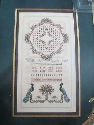 Cross 'n Patch Counted Cross Stitch/hardanger Pattern With Some Threads/beads