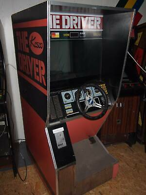 "ARCADE: ""THE DRIVER"" by KASKO Fahrsimulator (1979) mit Extra Film"