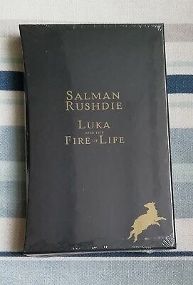 Salman Rushdie Signed Limited Slipcased Luka And The Fire Of Life 1/1 Uk Hb New