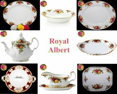 Royal Albert Old Country Roses Plates, Platters and More - Your Choice
