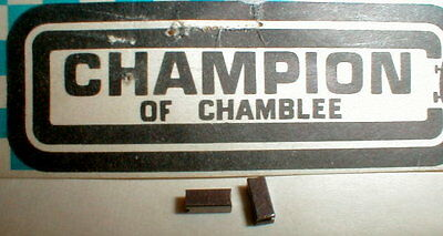 Champion COMP SERIES HIGH COPPER MABUCHI 16D BRUSHES Vintage Slot Car NOS 1/24
