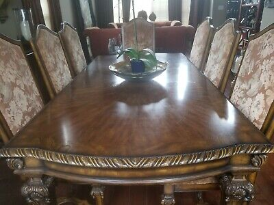 ELEGANT FORMAL DINING Room Set (Table and 8 chairs ...