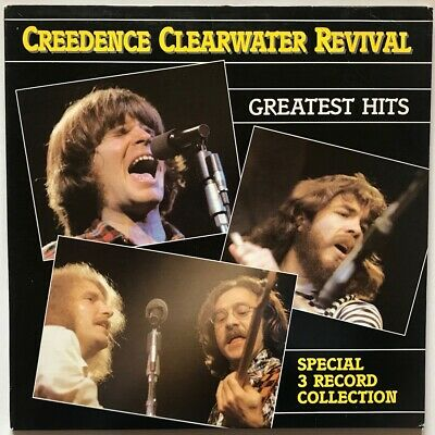 Creedence Clearwater Revival - Greatest Hits - 1985 - Three Vinyl Record LP Set