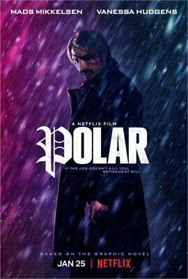 """polar "" Dvd Pre Sale Free Shipping 3/26 Factory Sealed Brand New"