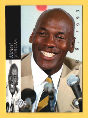 d8ab37149625bd 1993-94 Upper Deck SE  MJR1 Michael Jordan Retirement Card - Chicago White  Sox