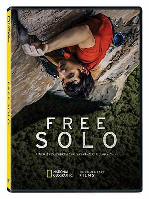 """free Solo"" Dvd Pre Sale Free Shipping 3/19 Factory Sealed Brand New Us Seller"