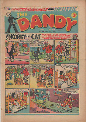 The Dandy 725 Good 15Th Oct 1956 Dc Thomson Uk Comic