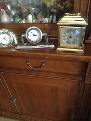 Job Lot Mantle Clock'S Desk Clocks Carriage Clock Nautical Clock