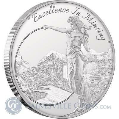 1 - 1 oz .999 Silver Round - Mason Mint Heritage Proof-Like Silver Round
