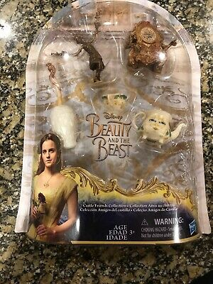 Disney Beauty And The Beast Castle Friends Collection Figurines #B9168 New 2016