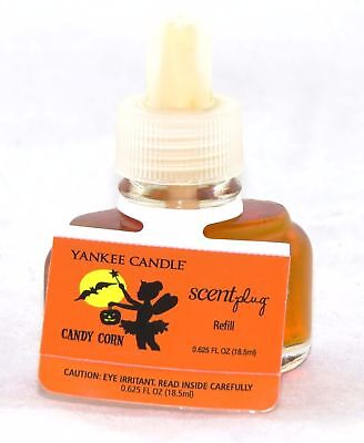Yankee Candle Halloween Candy Corn Scent Plug Oil Warmer Refill Rare Discontd