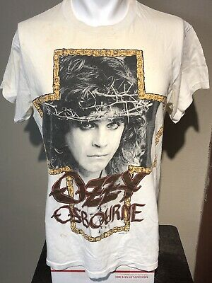 VTG 1988 Ozzy Osbourne No Rest For The Wicked Promo Tee-L